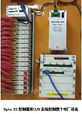 同时,集成电路温度探测传感器(ictds)连接热电偶模拟输入模块,监控