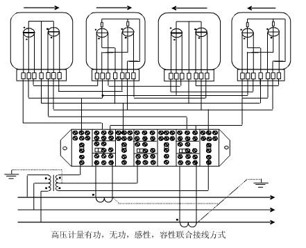 计量接线盒接线图