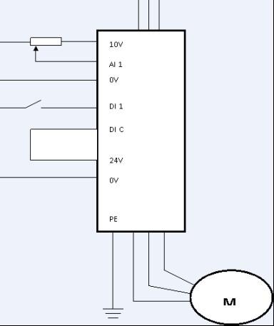 两台高低速电机的接线图